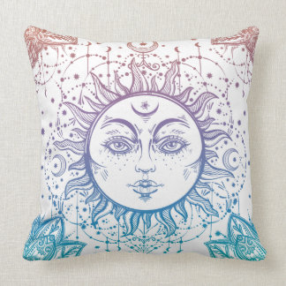 Celestial Sun pillow