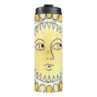 Celestial Sunburst Thermal Tumbler