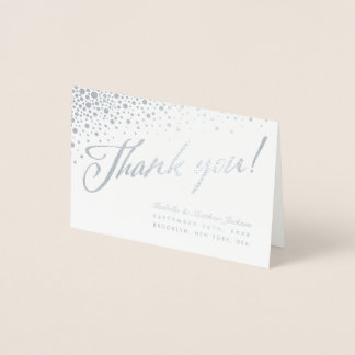 Celestial Union Thank You Cards - Real Foil