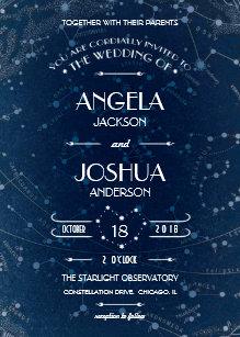 celestial invitations announcements zazzle au