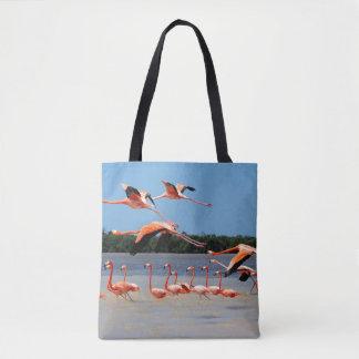 Celestun Biosphere Reserve Tote Bag