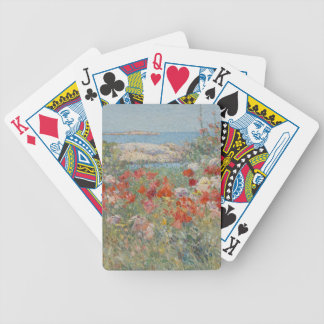 Celia Thaxter's Garden, Isles of Shoals, Maine Bicycle Playing Cards