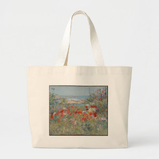 Celia Thaxter's Garden, Isles of Shoals, Maine Large Tote Bag