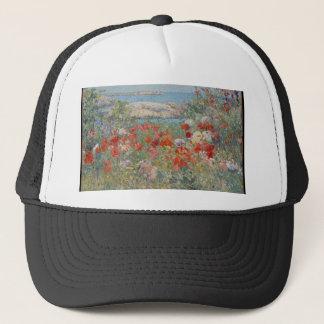 Celia Thaxter's Garden, Isles of Shoals, Maine Trucker Hat