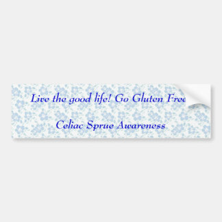 Celiac Bumper Sticker