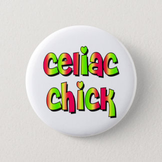 Celiac Chick 6 Cm Round Badge