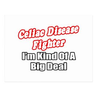 Celiac Disease Fighter...Big Deal Postcard
