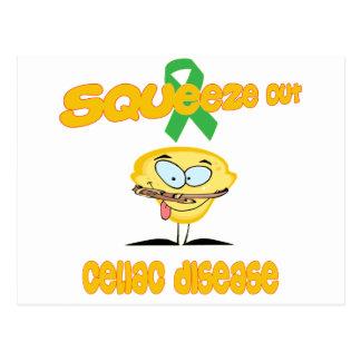 Celiac Disease Post Cards