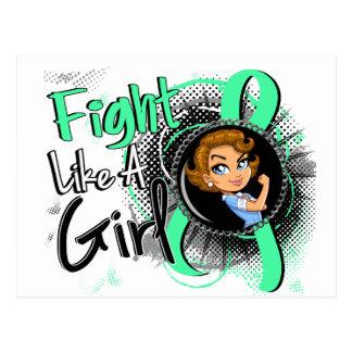 Celiac Disease Rosie Cartoon FLAG Post Cards