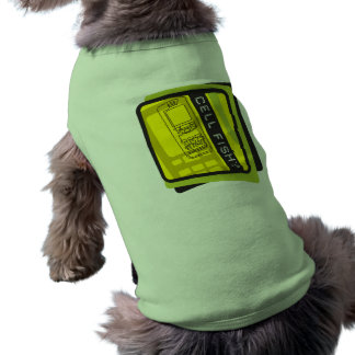 Cell Fish Sleeveless Dog Shirt