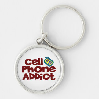 Cell Phone Addict Keychains