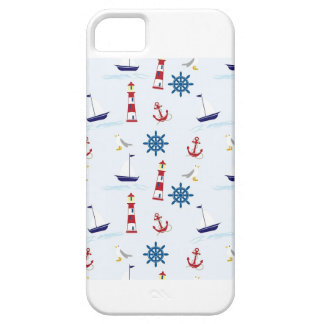 Cell Phone Case - Boating Background iPhone 5 Covers