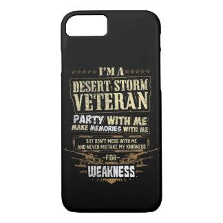 Cell Phone Case I Am A Desert Storm Veteran