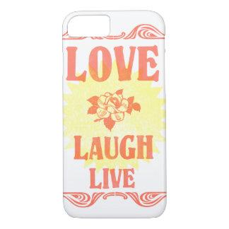 Cell Phone Case - Love Laugh Live