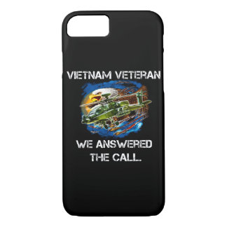 Cell Phone Case Vietnam Veteran Answered The Call