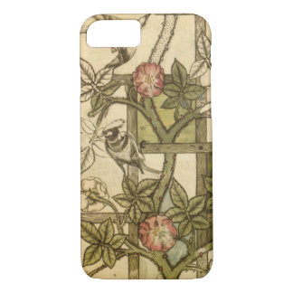 Cell Phone Case with Trellis Design