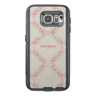 Cell Phone_Cases_TEMPLATE_Name_Abstract Lace_CLN OtterBox Samsung Galaxy S6 Case