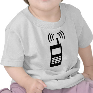 cell phone celly mobil handy shirt