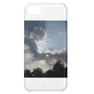 Cell phone cover with picture of clouds iPhone 5C case