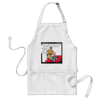 Cell Phone Driver Funny Tees Mugs Gifts Standard Apron
