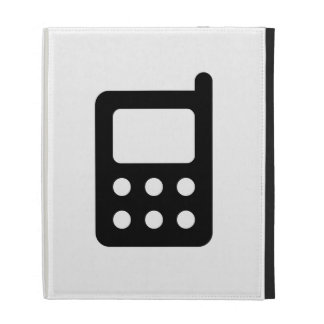 Cell Phone Icon iPad Cases