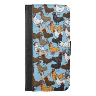 Cell Phone Wallet Case - Blue