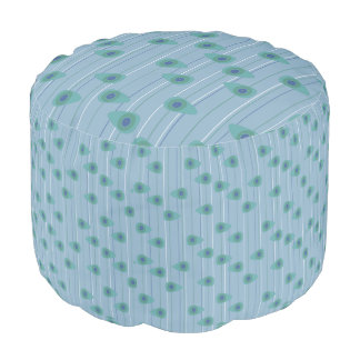 Cell-ular Lounge - blues Pouf
