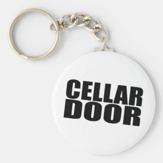 Cellar Door Basic Round Button Key Ring