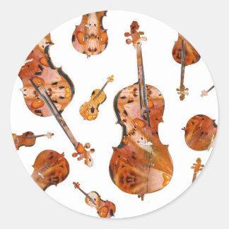 cello (14).jpg classic round sticker