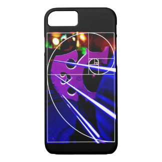 Cello and Fibonacci spiral iPhone 7 Case
