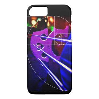 Cello bridge and Fibonacci spiral iPhone 7 Case