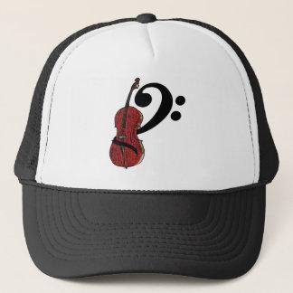 Cello Clef Hat