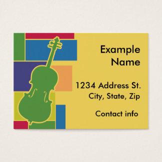 Cello Colorblocks Profile Card