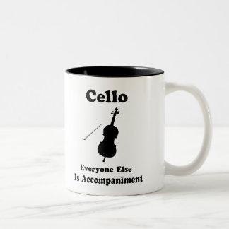 Cello Gift Two-Tone Coffee Mug
