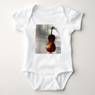 Cello In A Window Baby Bodysuit
