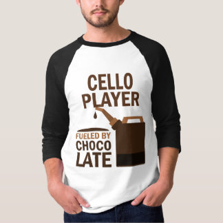 Cello Player (Funny) Chocolate Shirt