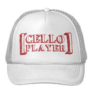 Cello Player Hat