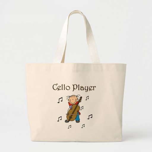 Cello Player Tshirts and Gifts Canvas Bag