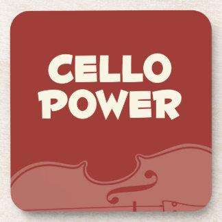 Cello Power! Coaster