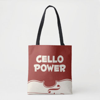 Cello Power Tote Bag