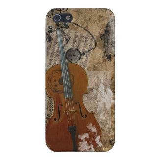 Cello Steampunk iPhone 5 Case