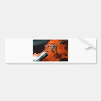 Cello Strings Stringed Instrument Wood Instrument Bumper Sticker