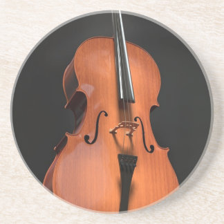 Cello Strings Stringed Instrument Wood Instrument Coaster