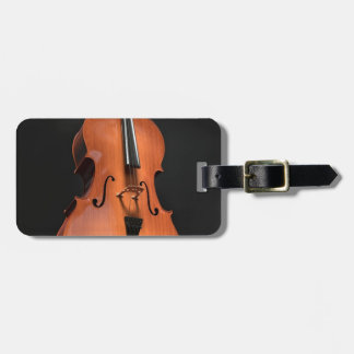 Cello Strings Stringed Instrument Wood Instrument Luggage Tag