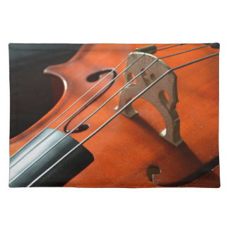Cello Strings Stringed Instrument Wood Instrument Placemat