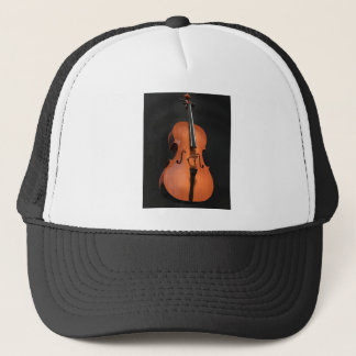 Cello Strings Stringed Instrument Wood Instrument Trucker Hat