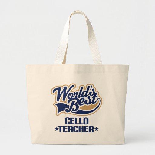 Cello Teacher Gift Tote Bag