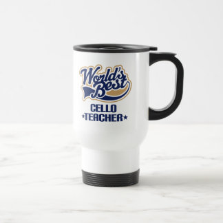 Cello Teacher Gift Travel Mug