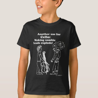 Cello Zombie Explode Light T-Shirt