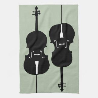 Cellos Tea Towel